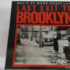 Discos de vinilo: MAGNIFICO LP - M U S I C - B Y - M A R K - K N O P F L E R - LAST EXIT TO BROOKLYN -. Lote 61280555