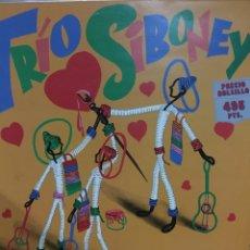 Discos de vinilo: TRIO SIBONEY-1961. Lote 61288390
