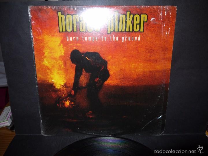 Discos de vinilo: HORACLE PINKER - BURN TEMPE TO THE GROUND. LP. - Foto 2 - 61296491