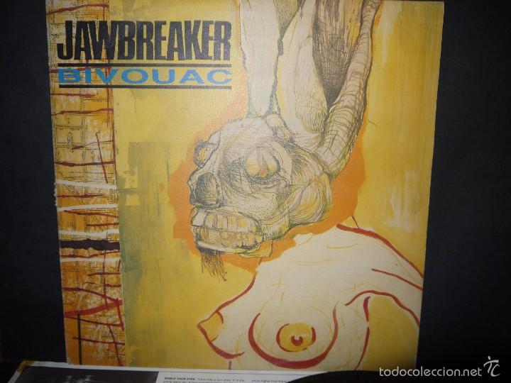 Discos de vinilo: JAWBREAKER - BIVOUCAC, LP ORIGINAL 1991, USA. - Foto 2 - 61296971