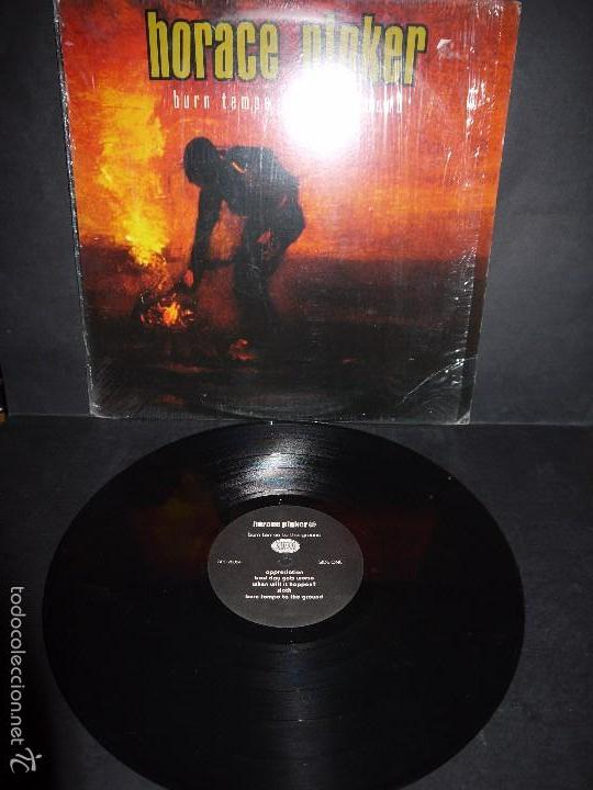 HORACLE PINKER - BURN TEMPE TO THE GROUND. LP. (Música - Discos - LP Vinilo - Punk - Hard Core)