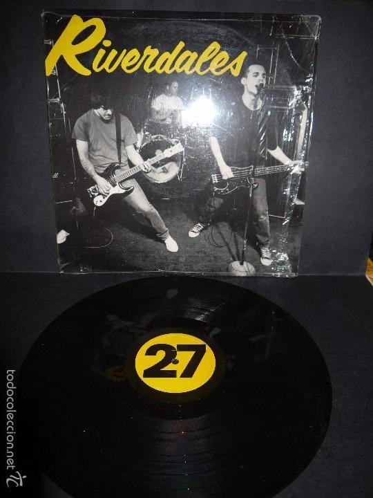 RIVERDALES - 27. VINILO ,LP. 1995 USA. ORIGINAL , DIFICILISIMO. (Música - Discos - LP Vinilo - Punk - Hard Core)