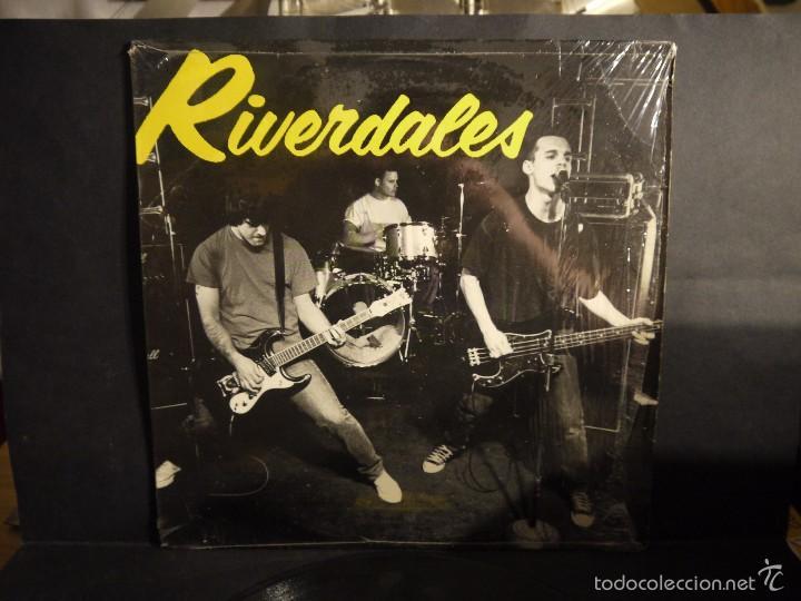 Discos de vinilo: RIVERDALES - 27. VINILO ,LP. 1995 USA. ORIGINAL , DIFICILISIMO. - Foto 2 - 61297739