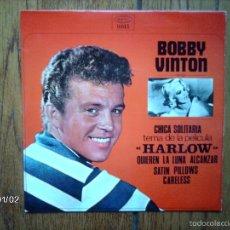 Discos de vinilo: BOBBY VINTON - CHICA SOLITARIA + 3. Lote 61329991