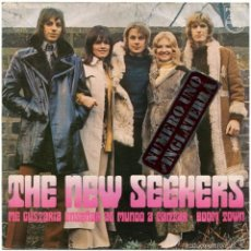 Discos de vinilo: THE NEW SEEKERS - ME GUSTARÍA ENSEÑAR AL MUNDO A CANTAR... (COCA-COLA) - SG SPAIN 1971 - 1ª ED.. Lote 61334831