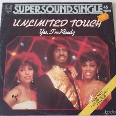 Discos de vinilo: UNLIMITED TOUCH - YES, I'M READY - 1983. Lote 61344499