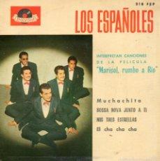 Discos de vinilo: ESPAÑOLES, EP, MUCHACHITA + 3, AÑO 1963. Lote 61344779