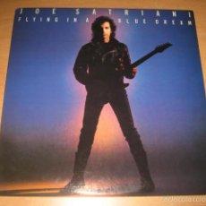 Discos de vinilo: LP JOE SATRIANI - FLYING IN A BLUE DREAM - RELATIVITY AÑO 1989 USA. Lote 61348070