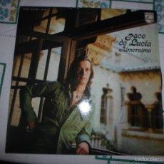 Discos de vinilo: PACO DE LUCIA ALMORAIMA. Lote 61349432