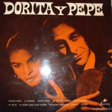 Discos de vinilo: DORITA Y PEPE , LP EDICION INGLESA , (CONTIENE FUNDA INTERIOR ORIGINAL).. Lote 61351109