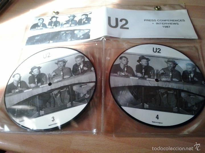 U2 PRESS CONFERENCES INTERVIEWS 1987 (Música - Discos - LP Vinilo - Rock & Roll)