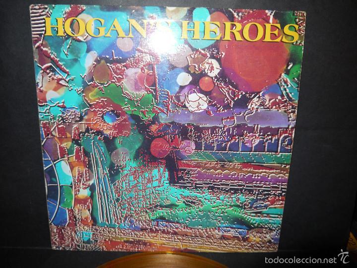 Discos de vinilo: HOGAN'S HEROES , VINILO AMARILLO, NYC 1989 MADE IN CANADA, PERFECTO. - Foto 2 - 61362194