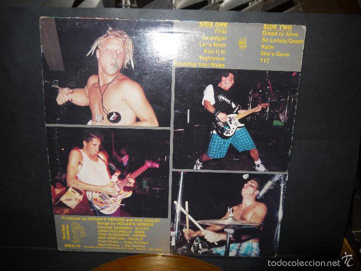 Discos de vinilo: HOGAN'S HEROES , VINILO AMARILLO, NYC 1989 MADE IN CANADA, PERFECTO. - Foto 3 - 61362194