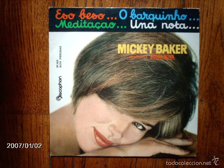 MICKEY BAKER - ESO BESO ... + 3 (Música - Discos de Vinilo - EPs - Orquestas)