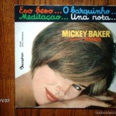 Discos de vinilo: MICKEY BAKER - ESO BESO ... + 3. Lote 61362383