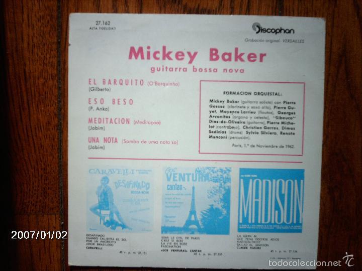 Discos de vinilo: mickey baker - eso beso ... + 3 - Foto 2 - 61362383