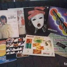 Discos de vinilo: LOTE DE 8 DISCOS DE VINILO RUSOS. ¡¡¡ORIGINALES Y MUY CURIOSOS!!!. Lote 122725474