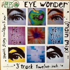 Discos de vinilo: THE APPLES : EYE WONDER [ESP 1991]. Lote 58246732