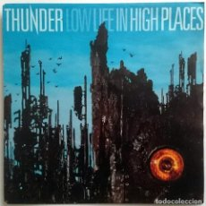 Discos de vinilo: THUNDER: LOW LIFE IN HIGH PLACES, SINGLE EMI 88 0165 7, EUROPE, 1992. NM/NM. Lote 61392275