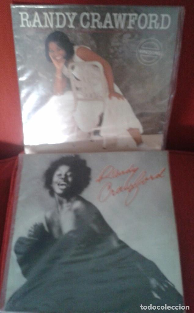 LOTE DE DOS LP DE RANDY CRAWFORD ,AÑOS 80 ,EXTRANJEROS (Música - Discos - Singles Vinilo - Funk, Soul y Black Music)