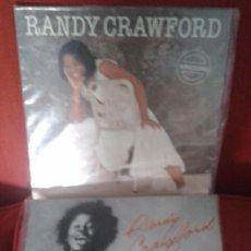 Discos de vinilo: LOTE DE DOS LP DE RANDY CRAWFORD ,AÑOS 80 ,EXTRANJEROS. Lote 61394227