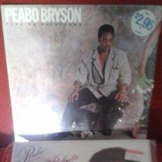 Discos de vinilo: LOTE DE DOS LP AMERICANOS ,PEABO BRYSON Y ROBERTA FLACK AÑOS 80 . Lote 61394999
