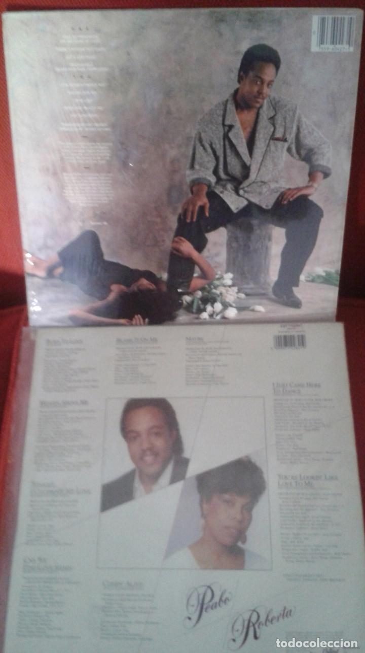 Discos de vinilo: LOTE DE DOS LP AMERICANOS ,PEABO BRYSON Y ROBERTA FLACK AÑOS 80 - Foto 2 - 61394999