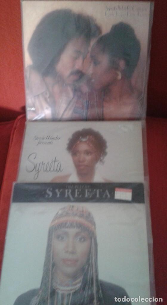 LOTE DE TRES LPS DE SYREETA Y G.C.CAMERON AÑOS 70 ,80,EXTRANJEROS (Música - Discos - Singles Vinilo - Funk, Soul y Black Music)