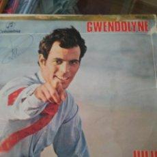 Discos de vinilo: JULIO IGLESIAS GWENDOLYNE. Lote 61411599