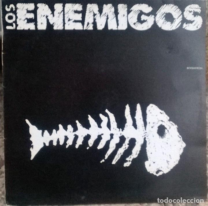 LOS ENEMIGOS. BOQUERÓN/ JOHN WAYNE. GRABACIONES ACCIDENTALES, SPAIN 1989 MAXI-LP (Música - Discos de Vinilo - Maxi Singles - Grupos Españoles de los 70 y 80)