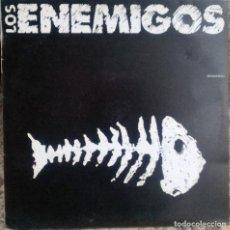 Discos de vinilo: LOS ENEMIGOS. BOQUERÓN/ JOHN WAYNE. GRABACIONES ACCIDENTALES, SPAIN 1989 MAXI-LP. Lote 61420407