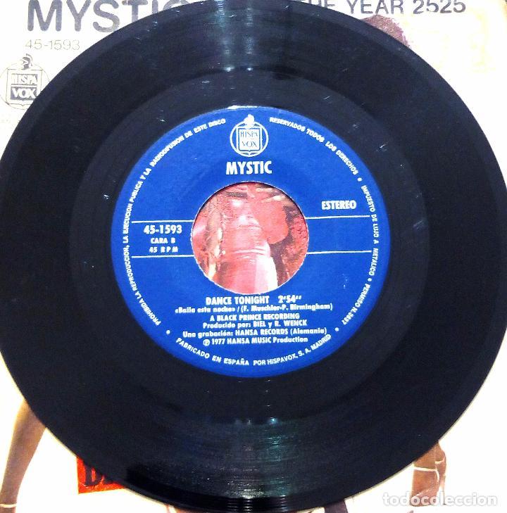 Discos de vinilo: SINGLE MYSTIC - IN THE YEAR 2525 - HISPAVOX 1977. - Foto 4 - 61427311