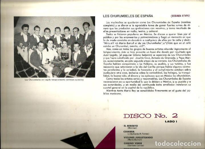 Discos de vinilo: LO MEJOR DE LOS CHURUMBELES DE ESPAÑA ( CAJA CON 3 LP´S ) EDICION MEXICO MKLA 42 - Foto 5 - 61430487