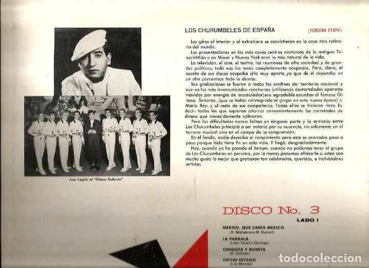 Discos de vinilo: LO MEJOR DE LOS CHURUMBELES DE ESPAÑA ( CAJA CON 3 LP´S ) EDICION MEXICO MKLA 42 - Foto 6 - 61430487