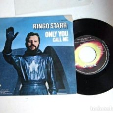 Discos de vinilo: BEATLES RINGO STARR SINGLE ORIGINAL ESPAÑA 1974 COLECCION. Lote 61459219