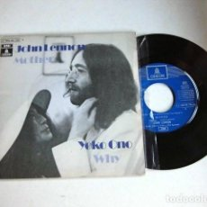 Discos de vinilo: BEATLES JOHN LENNON SINGLE ORIGINAL ESPAÑA 197O COLECCION. Lote 61459719