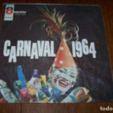 Discos de vinilo: LP CARNAVAL 1964, BRASIL.. Lote 61468791