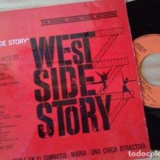 Disques de vinyle: EP VINILO DE LA BANDA SDONORA ORIGINAL DE LA PELICULA WEST SIDE STORY. Lote 61469507