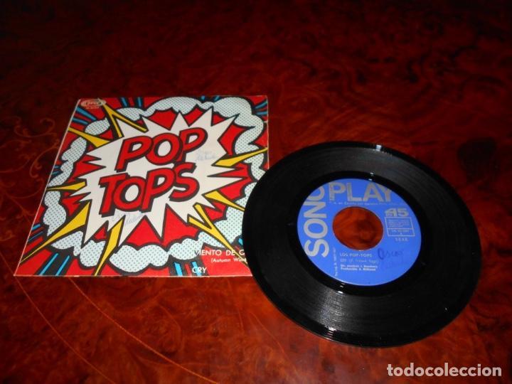 POP TOPS - CRY / AUTUMN WINDS SONOPLAY - 1967 (Música - Discos - Singles Vinilo - Grupos Españoles 50 y 60)