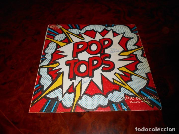 Discos de vinilo: POP TOPS - CRY / AUTUMN WINDS SONOPLAY - 1967 - Foto 2 - 61475531