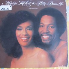 Discos de vinilo: LP - MARILYN MCCOO AND BILLY DAVIS JR. - THE TWO OF US (SPAIN, ABC RECORDS 1977, PORTADA DOBLE). Lote 61485831