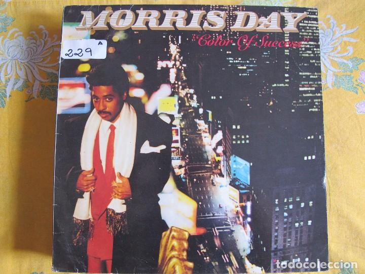 LP - MORRIS DAY - COLOR OF SUCCESS (PROMOCIONAL ESPAÑOL, WB RECORDS 1985) (Música - Discos - LP Vinilo - Funk, Soul y Black Music)