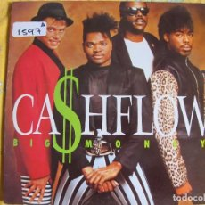 Discos de vinilo: LP - CASHFLOW - BIG MONEY (SPAIN, MERCURY RECORDS 1988). Lote 61493351