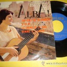 Discos de vinilo: ALBA! ELS EIXOS DE LA CARRETA/SOM/LA CALMA DE LA MAR/HIMNE A L'AMOR (YUPANQUI/RAIMON/PIAFF). Lote 61501855