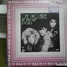 Discos de vinilo: ONE TWO THREEANOTHER KNIFE IN MY BACK. Lote 61505963