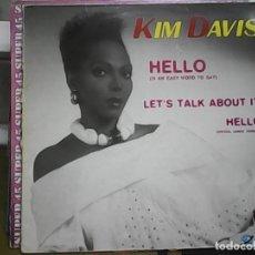 Discos de vinilo: KIM DAVISHELLO (MINI LP). Lote 61506023