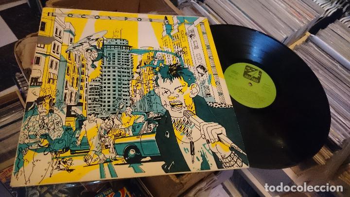 LOCOS POR LA MUSICA LP DISCO DE VINILO PARÁLISIS PERMANENTE ESPASMÓDICOS ZOQUILLOS PUNK POP (Música - Discos - LP Vinilo - Grupos Españoles de los 70 y 80)