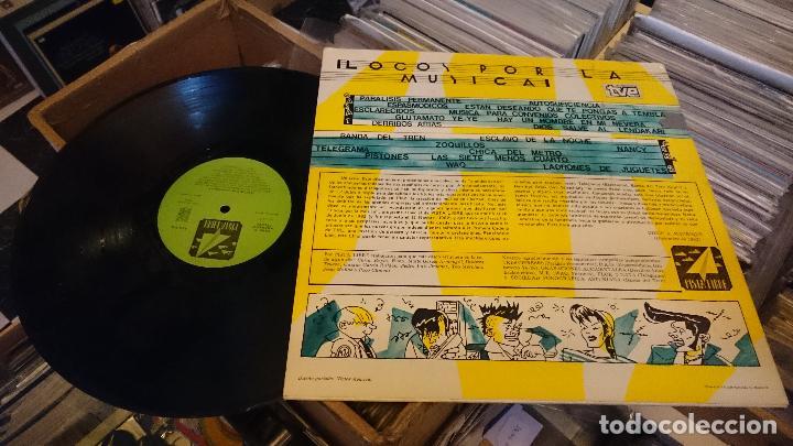 Discos de vinilo: Locos por la musica lp disco de vinilo Parálisis permanente Espasmódicos Zoquillos Punk Pop - Foto 3 - 61534268