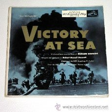 Discos de vinilo: VICTORY AT SEA. 3 EPS PRINTED IN USA. RCA VICTOR NEW ORTHOPHONIC.. Lote 61540728