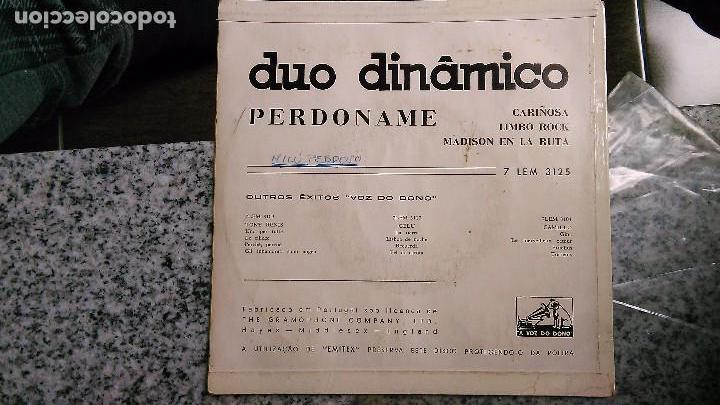 Discos de vinilo: Dúo dinámico carpeta del ep perdóname + 3.portugal - Foto 2 - 61546284